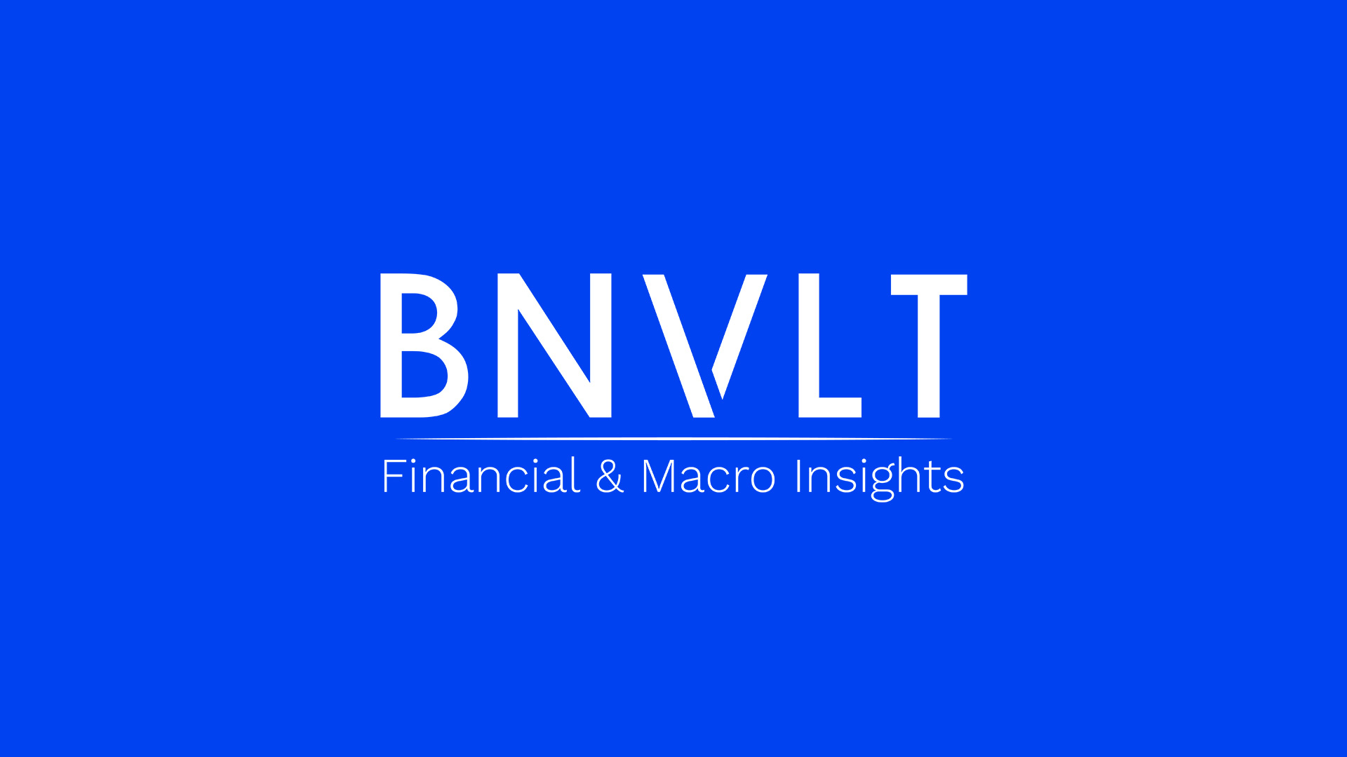 Logo Financial and Macro Insights by BNVLT
